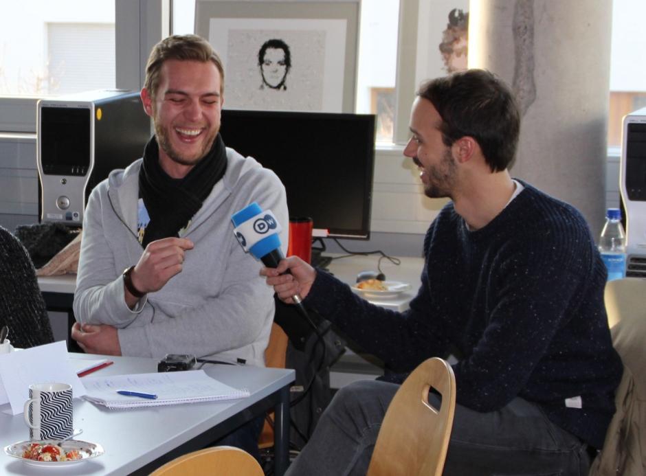 Interviews dürfen auch Spaß machen